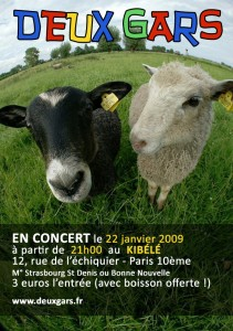 Flyer 22 janvier - Kibélé